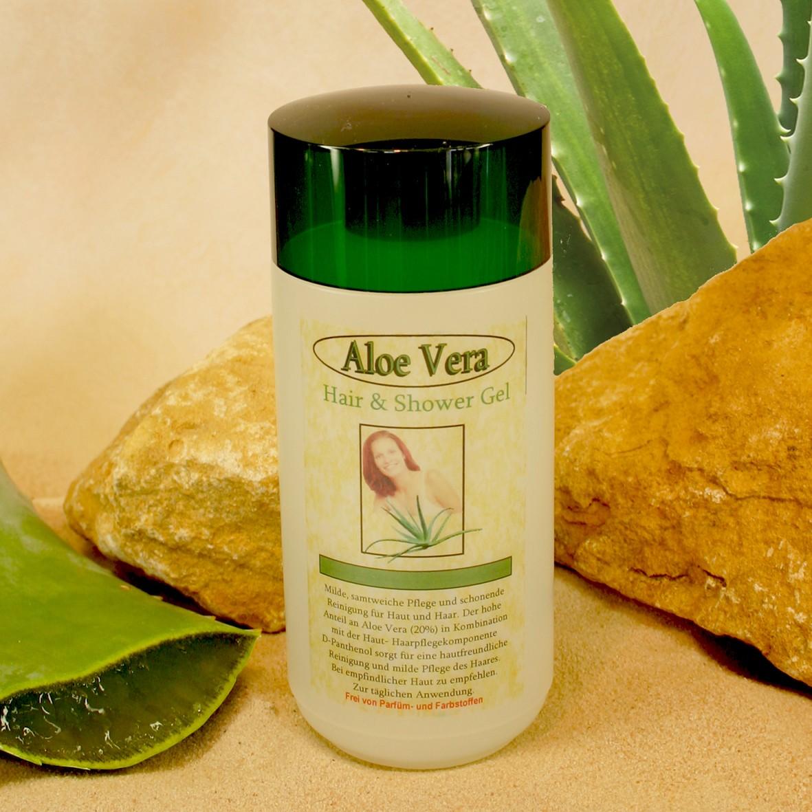 Aloe Vera Zentrum | Aloe Vera Shampoo Und Duschgel 2in1 - Produkte Aloe Vera Pflanze Pflege Anwendung