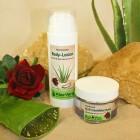 Aloe Vera Q10 Gesichtscreme mit Rosenduft